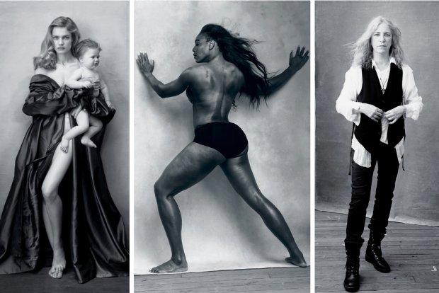 Natalia Vodianova, Serena Williams, Patti Smith: kalendarz Pirelli 2016