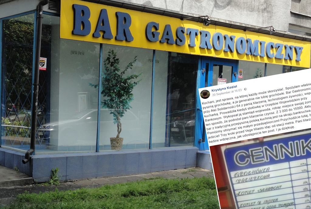 Bar Gastronomiczny na skraju bankructwa