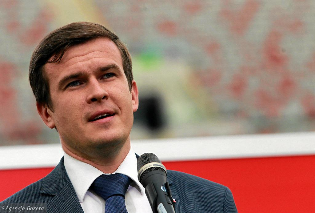 Minister sportu Witold Bańka