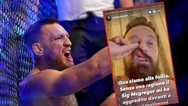 Conor McGregor uderzył włoskiego DJ-a