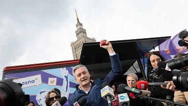 Wiosna rozpoczyna kampanię do PE