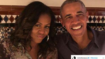 Michelle Obama zachwyciła na zaprzysiężeniu nie tylko stylizacją, lecz także fryzurą. 'Dzieło sztuki'