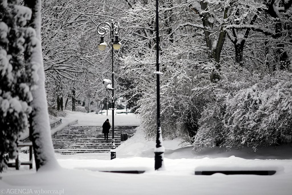 Prognoza pogody. IMGW ostrzega przed Intensywnymi opadami śniegu / zdjęcie ilustracyjne