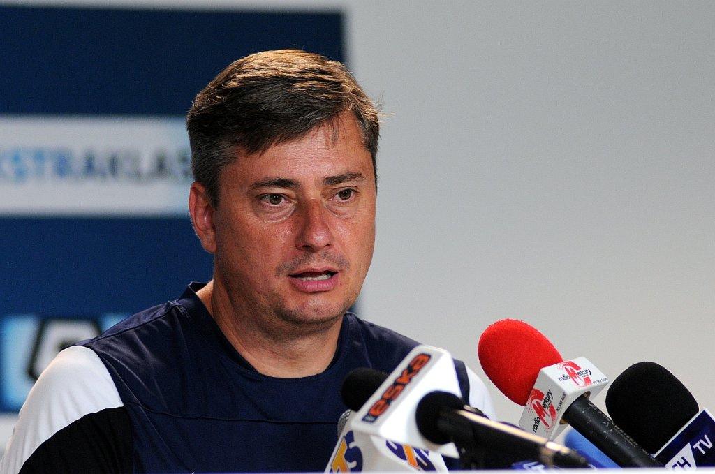 Trener Lecha Poznań Maciej Skorża