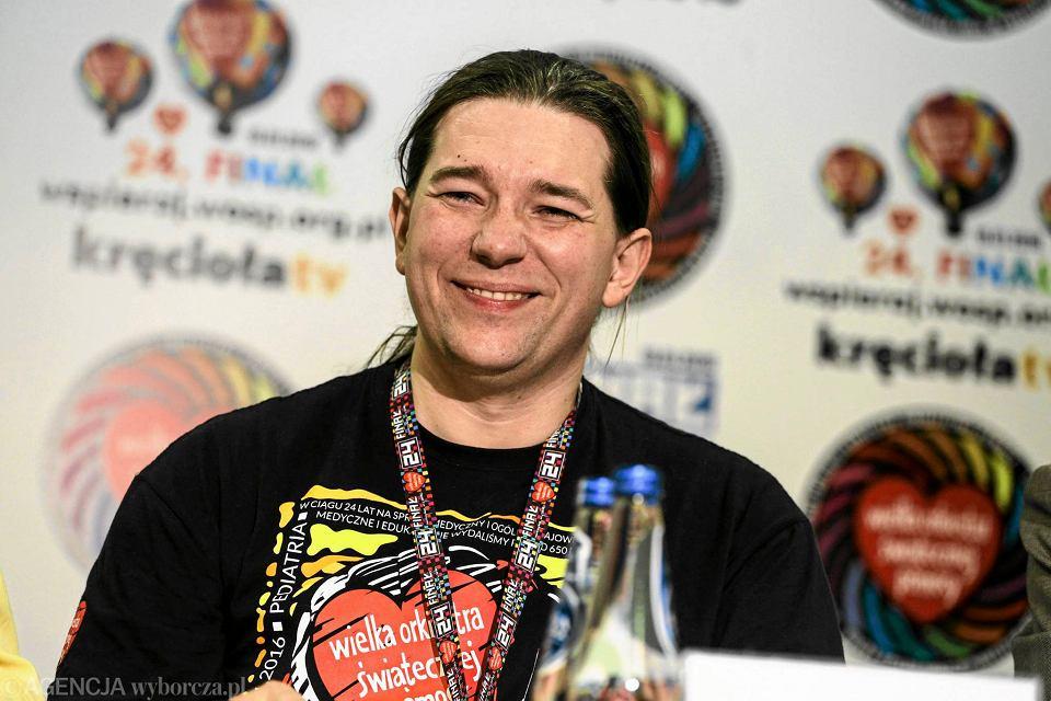 Krzysztof Dobies - rzecznik prasowy WOŚP i festiwalu Pol'and'Rock