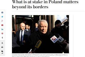 Washington Post: Polska przestaje być inspiracją dla Ukrainy, Białorusi, Gruzji. Rządami PiS cieszy się przede wszystkim Putin