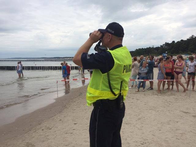 Na plaży w Ustce zginęła 7-letnia dziewczynka
