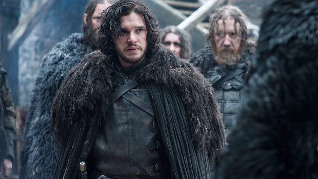 Kit Harington jako Jon Snow w serialu