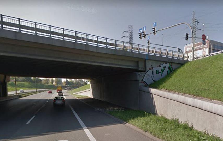 Miejsce wypadku w Sosnowcu