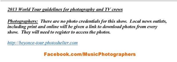Music Photographers