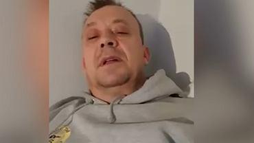 Andy Hardiwck, 51-letni zakażony koronawirusem opisuje objawy choroby.