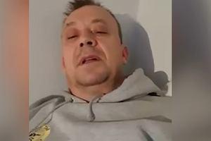 """51-letni chory mężczyzna na nagraniu ostrzega przed koronawirusem. """"To naprawdę boli"""""""