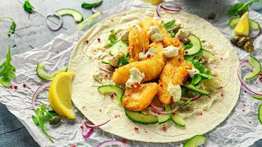 Tortilla z rybą jest prosta w przygotowaniu i bardzo smaczna