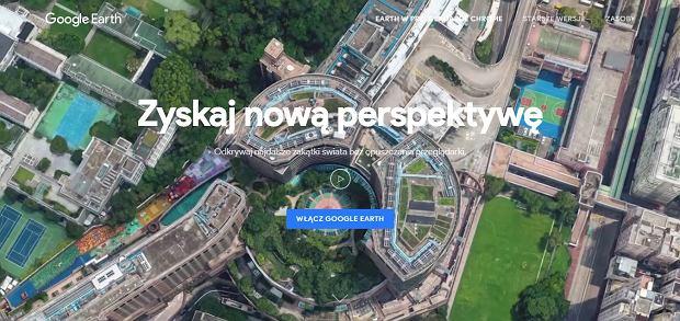 Nowe Google Earth