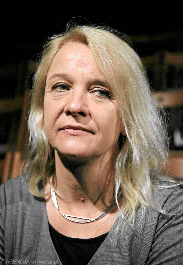 Ewa Wójciak, jedna z aktorek słynnego poznańskiej grupy - Teatr Ósmego Dnia
