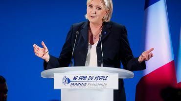 Wybory we Francji. Marine le Pen