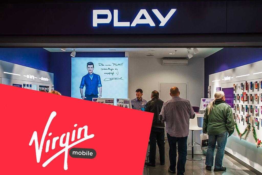 Play może wchłonąć Virgin Mobile