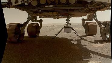 NASA odwróciła drona Ingenuity na Marsie. Jest niemal gotowy, ale historyczny lot się opóźni