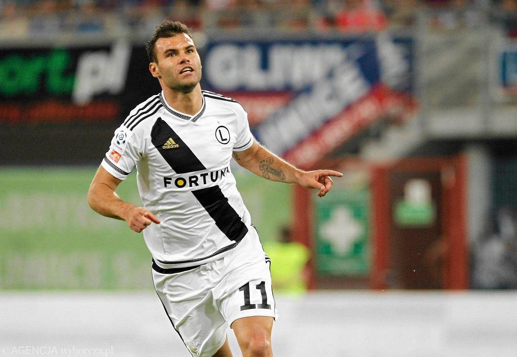 Nemanja Nikolić to najskuteczniejszy piłkarz Legii w tym sezonie