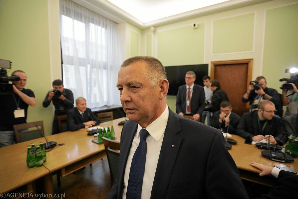 Prezes Najwyższej Izby Kontroli Marian Banaś