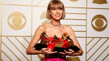 Grammy 2016 - Taylor Swift ze statuetkami