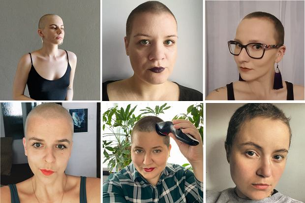 """""""To jedna z najbardziej wyzwalających rzeczy, jakie zrobiłam"""". Dlaczego kobiety golą głowy na kwarantannie"""
