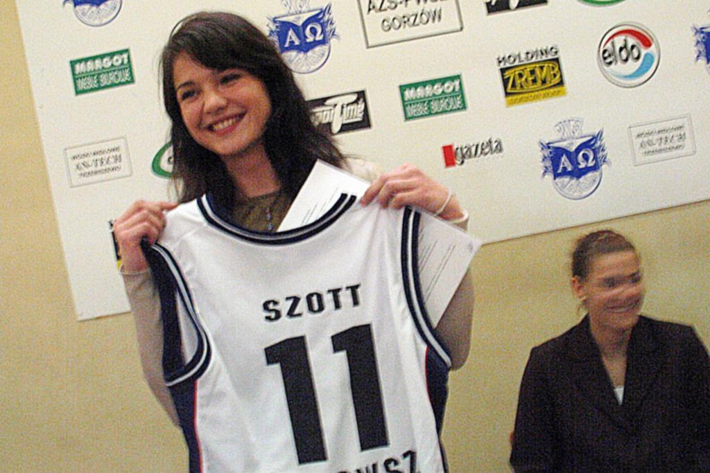 Agnieszka Szott-Hejmej, koszykarka pochodząca z Gorzowa