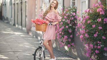 Sukienka w stylu hiszpańskim