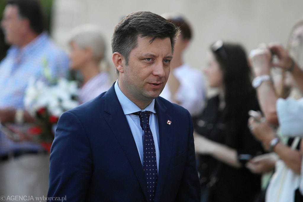 Michał Dworczyk (na zdjęciu) podał termin konferencji ws. luzowania obostrzeń