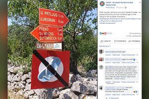 """Chorwaci mają dość """"klapkowiczów"""" w górach. Walczą z nimi w zabawny sposób"""