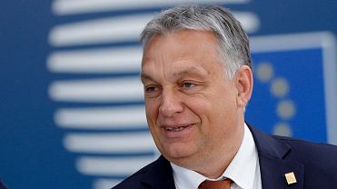 Premier Węgier Viktor Orban podczas szczytuUE w Brukseli, 2 lipca 2019