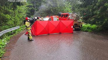 Na drodze do Morskiego Oka doszło do wypadku