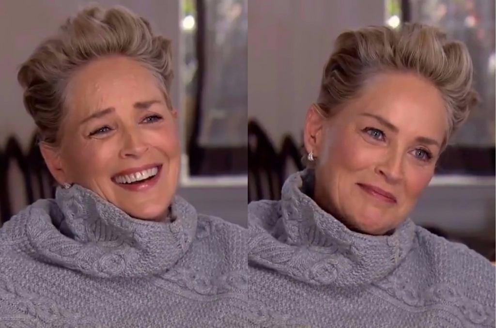 Sharon Stone w wywiadzie dla 'CBS Sunday Morning'