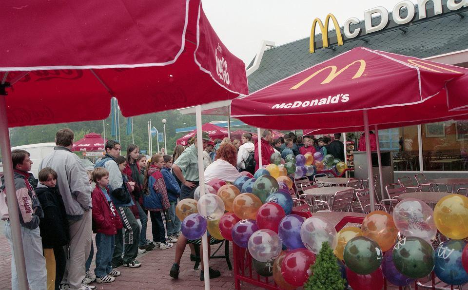 Maj 1997 r., otwarcie pierwszej restauracji McDonald's w Zielonej Górze