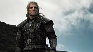 Henry Cavill jako wiedźmin Geralt z Rivii w serialu Netfliksa.