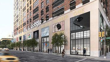 Pierwszy stacjonarny sklep Google powstanie w Nowym Jorku