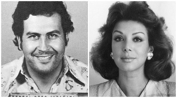Pablo Escobar i Virginia Vallejo (fot. Hernán Diaz/Phi2012/Wikimedia Commons/CC BY 3.0/Colombian National Police/public domain)