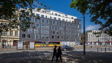 Centreville - apartamentowiec wybudowany przez Bouygues Immobilier Polska przy skrzyżowaniu ul. Drobnera i Śrutowej we Wrocławiu