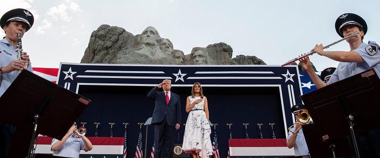 Dzień Niepodległości w USA. Trump: Nasz naród jest świadkiem bezlitosnej kampanii
