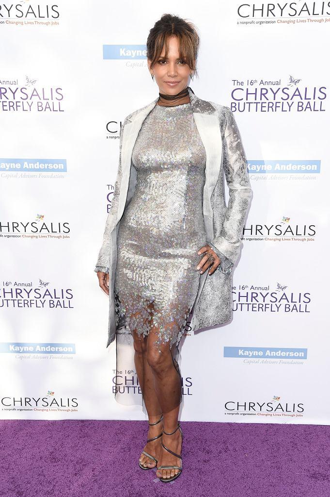 Halle Berry w sukience od Gosi Baczyńskiej, 16th Annual Chrysalis Butterfly Ball