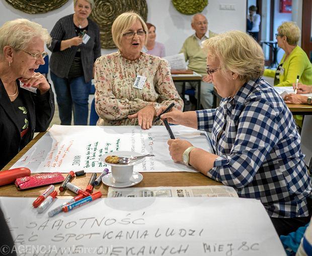Warsztaty dla seniorów w Mysłowicach