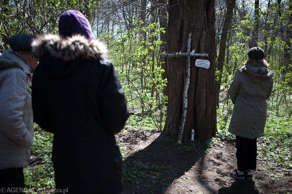 Park w Brzeźnie. W tym miejscu znaleziono zwłoki Agaty