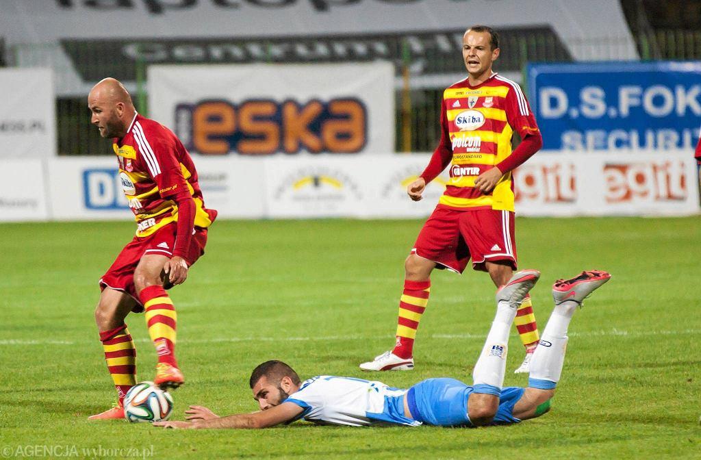 Mecz Stomil Olsztyn - Chojniczanka Chojnice w sezonie 2015/2016