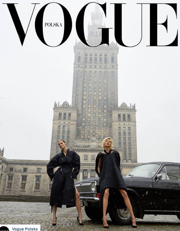 Vogue oryginalna okładka