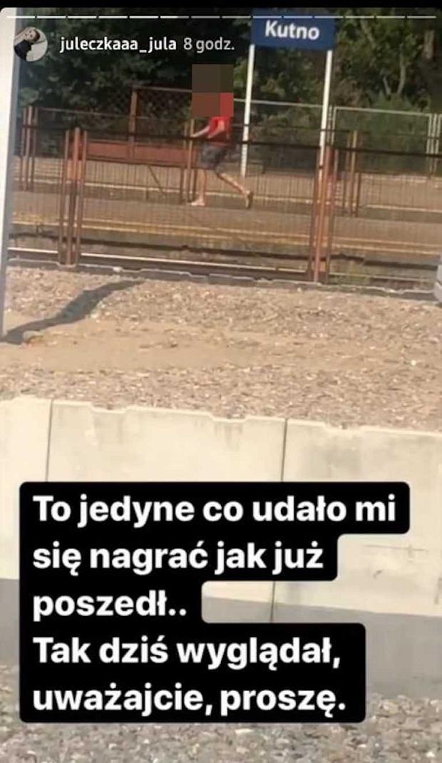 Julia Wróblewska napastowana w Kutnie