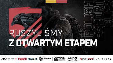 W poniedziałek rusza druga tura rozgrywek Polish Esport Cup Sezon 3!