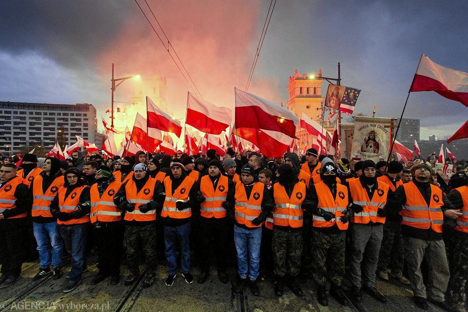 11.11.2017, Warszawa, Marsz Niepodległości.