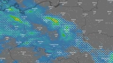 Burze nad Polską prognozowane na 30 czerwca