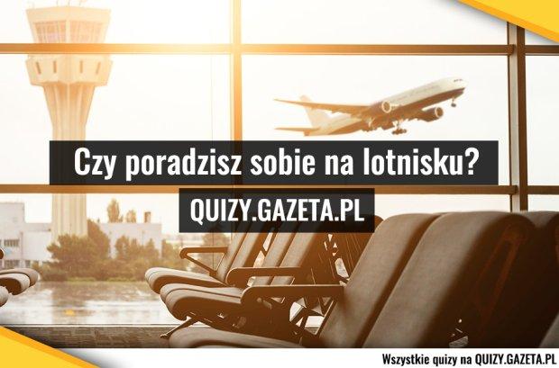 Grafika do quizu: czy poradzisz sobie sam na lotnisku?