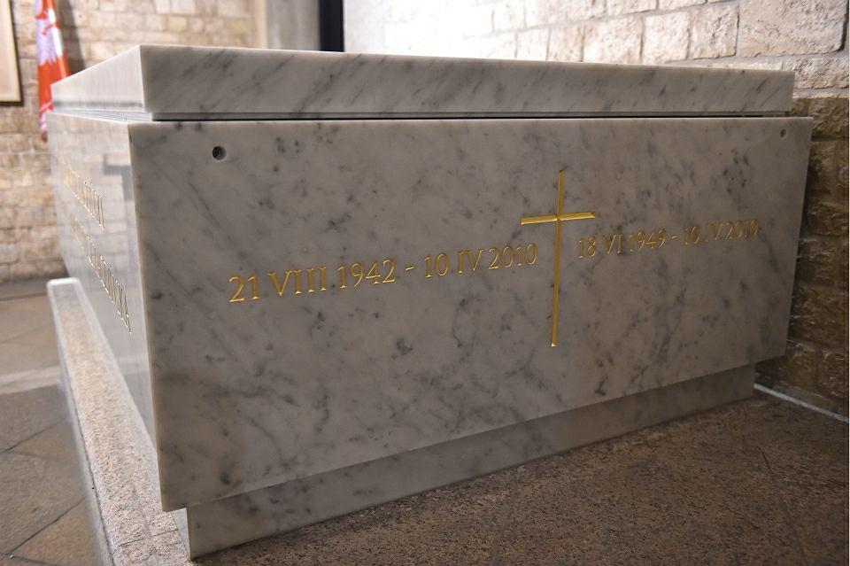 Sarkofag Lecha i Marii Kaczyńskich
